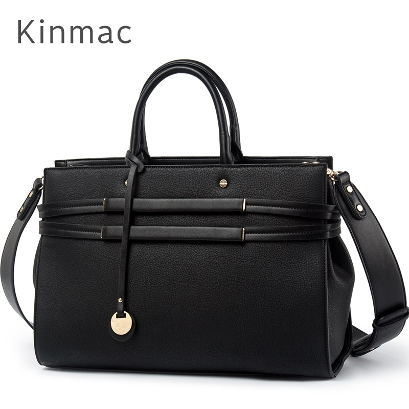 2019 New Brand Kinmac PU Leather Handbag Messenger Bag For Laptop 13 inch Case For MacBook