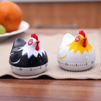 Cartoon Mini Kitchen Cooking Timer 1hour Cooking Tools Kitchen Timers 6 5 6 5cm free shipping in Kitchen Timers from Home Garden
