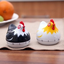 Cartoon Mini Kitchen Cooking Timer 1hour Tools Timers 6.5*6.5cm free shipping