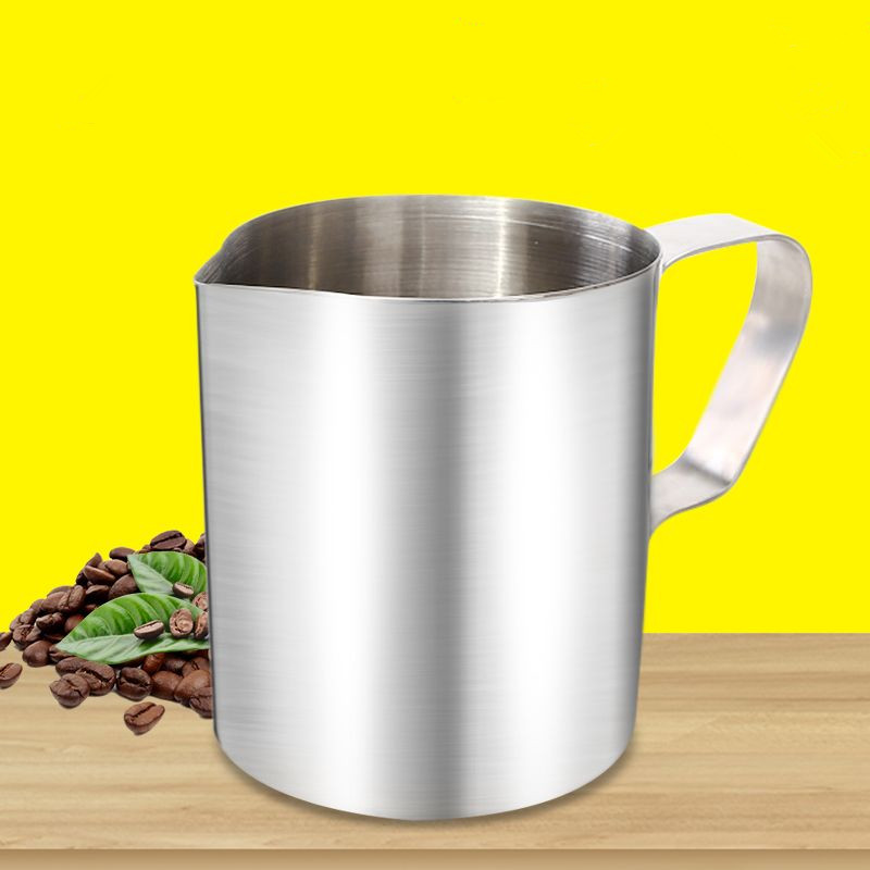 Eupa Stainless Steel 500ML Espresso Coffee Latte Art Cylinder Pitcher Barista Craft Latte Milk Frothing Jug Household eupa stainless steel 500ml espresso coffee latte art cylinder pitcher barista craft latte milk frothing jug household