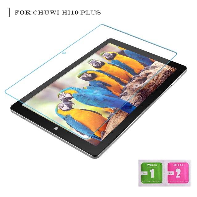 Para Chuwi Hi10 Plus 10.8 Polegada Tablet Vidro Temperado Protetor de tela Cheia Transparente Ultra-fina Borda 2.5D 9 H dureza