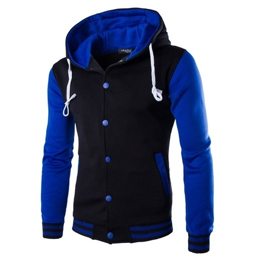 ZOGAA Men Casual Hoodies Cotton Button Sweatshirt Coat Fashion Baseball Clothing Button Hoodies Plus Size Male Outfits Clothing in Hoodies amp Sweatshirts from Men 39 s Clothing