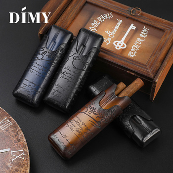 DIMY cigar cover leather personalized cigar leather travel portable cigar moisturizing валентин лакодин и cigar hall band 2019 02 08t20 30