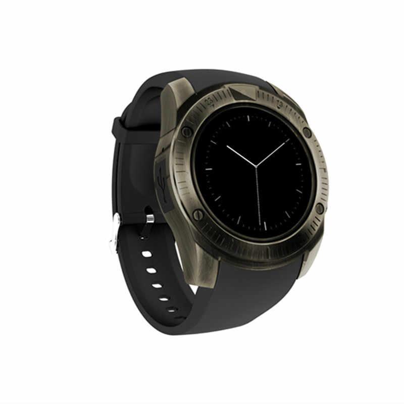 XIYAN Vintage Bluetooth inteligentny zegarek na rękę dla iPhone telefon z systemem android z kamerą obsługa karty sim TF Card 2018 najnowszy smartwatch