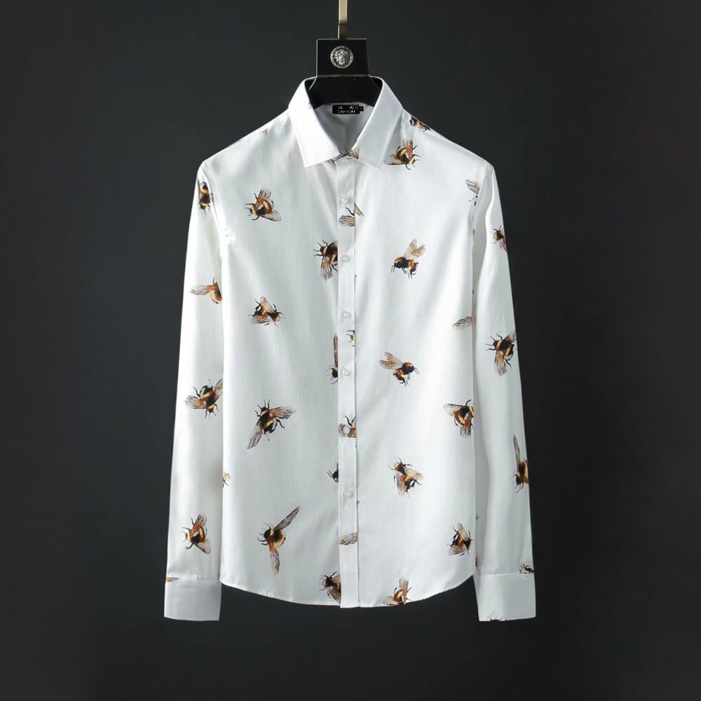 DUYOU ยี่ห้อผู้ชาย 100% Cotton เสื้อเสื้อแขนยาวผู้ชาย Mens Slim Fit ชายเสื้อชุดลำลองเสื้อ Camisa Masculina DY2123-ใน เสื้อเชิ้ตลำลอง จาก เสื้อผ้าผู้ชาย บน   1