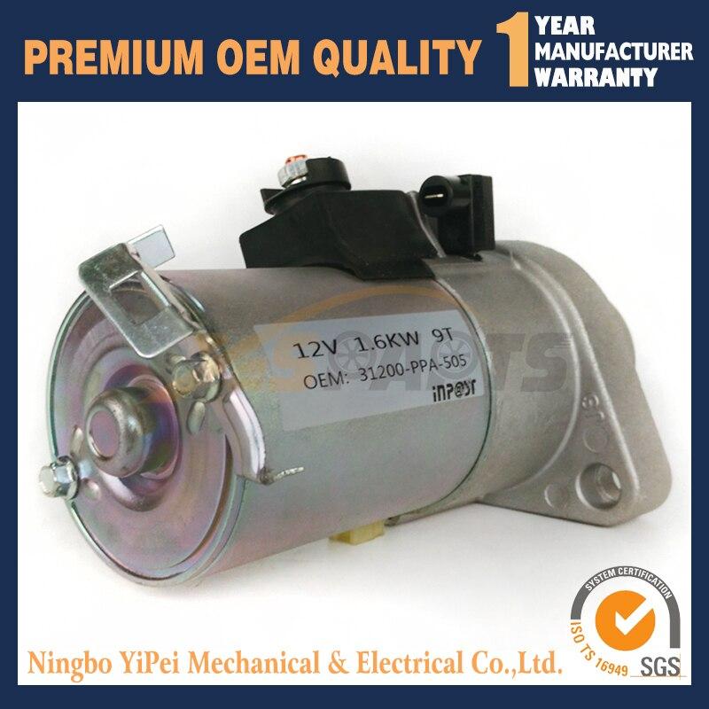 4L 100 new high quality starter motor fit for honda cb400 1992 1998