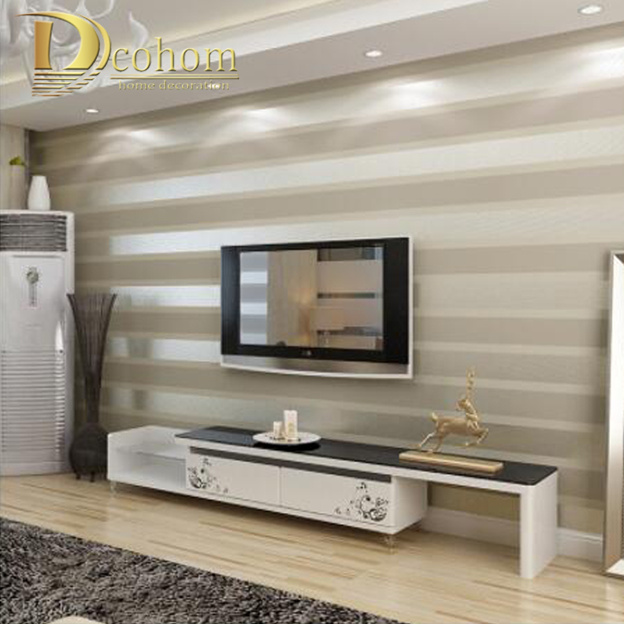 Big Offer Fashion Luxury Striped Wallpaper Living Room