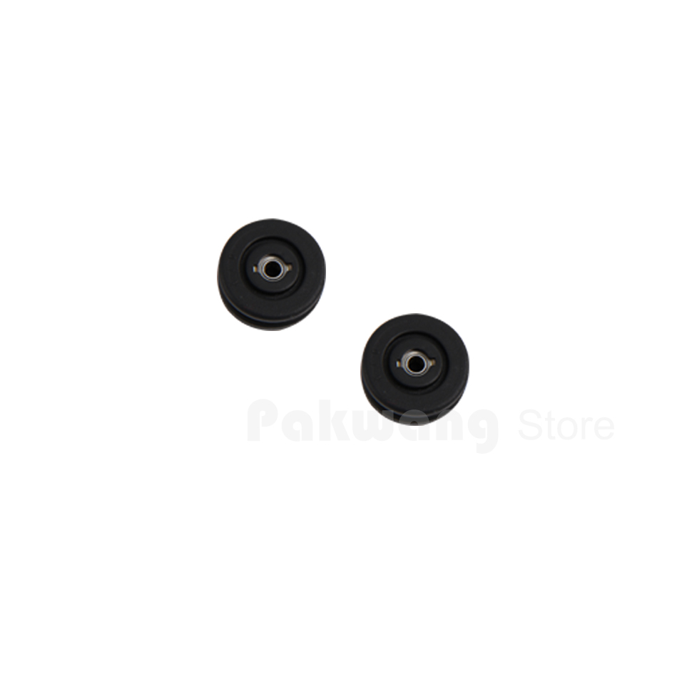 A320 & A325 Rubber Sleeve included Bearing 2 pcs, Robot Vacuum Cleaner Parts robot vacuum cleaner xr210 spare parts rubber sleeve not included bearing 2 pcs accessories