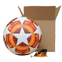 New Red Madrid 19 Final Balls 2018 2019 Champions League Soccer Ball PU high quality seamless paste skin football ball Size 5