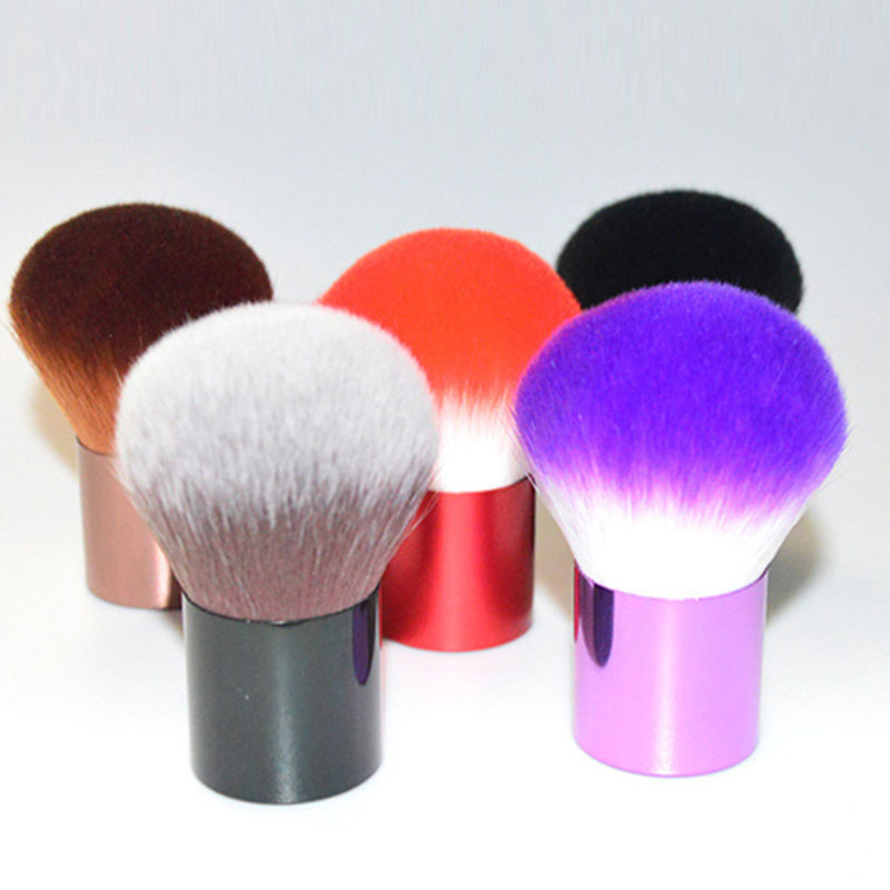 BBL Kabuki Powder Makeup Brushes Soft Portable Blush Brush Foundation Make Up Nail Beauty Essential 6 Colors Premium Quality