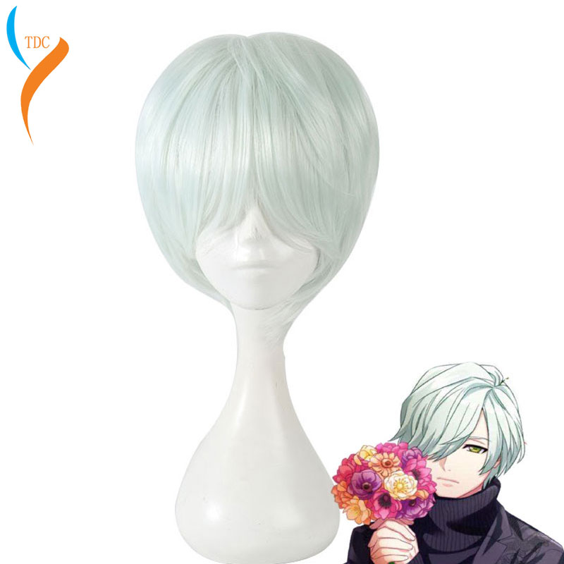 New Music Hand Tour A3! Winter Troupe Weird F And Lament Opera Mikage Hisoka Cosplay  Wig Heat Resistant Synthetic Wig  Party