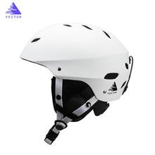 Professional CE Certification Adult windproof Ski Helmet for Men Women Skating Skateboard Snowboard Snow Sports Helmets 54-61cm недорого