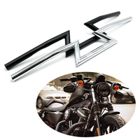 Motorcycle Handlebars 22mm 25mm Z Bars For Kawasaki Honda Yamaha Suzuki Dyna Touring Softail Cruiser Custom Bobber Chopper