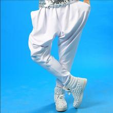 27-40 más tamaño ropa hombre moda Pantalones marea DS realizar cantante  etapa de la danza pantalones harem Jazz street dance pan. 261786aa084