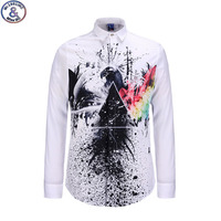 2016 Youth Fashion Trend Style Graffiti 3D Shirts Boys Big Kids 13 18 Years Long Sleeve