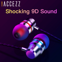 !ACCEZZ Wired Headset In-Ear Bass Subwoofer Stereo Earphone For Xiaomi Huawei Samsung For iPhone 4 5 6s Plus With Microphone luxury bling diamond earphone pearl necklace chain in ear earphone stereo with mic for iphone 6 6s samsung microphone