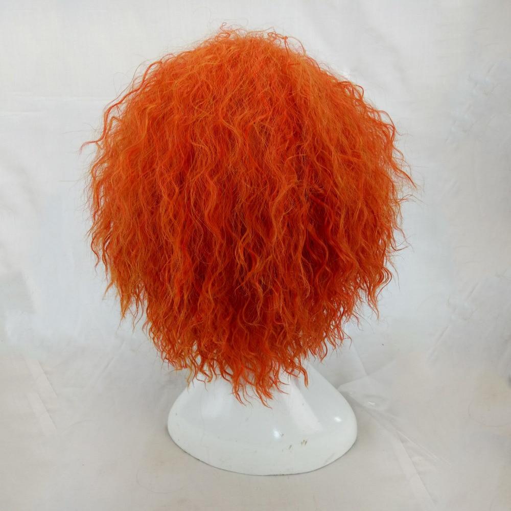 HAIRJOY Kinky Curly Paryk Syntetisk Hår Kvinna Medel Längd - Syntetiskt hår - Foto 5