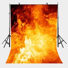5x7ft Raging Fire Backdrop Personality Theme Photography Background and Flame Party Props
