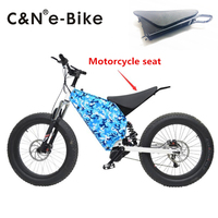 2017 New Design Comfortable Motorcycle Seat For Enduro Electric Bike Electric Mountain Bike