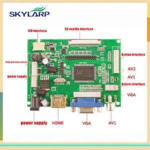 Skylarpu LCD Display TTL LVDS Controller Board HDMI VGA 2AV 50 PIN for AT070TN90 Support Automatically VS-TY2662-V1 Driver Board(China)