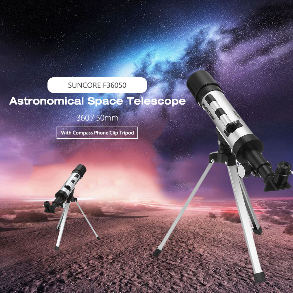 Outdoor Zoom Monocular Telescope Camera Space Astronomical Telescope with Tripod Phone Holder Spotting Scope 8x zoom optical mobile phone telescope camera white