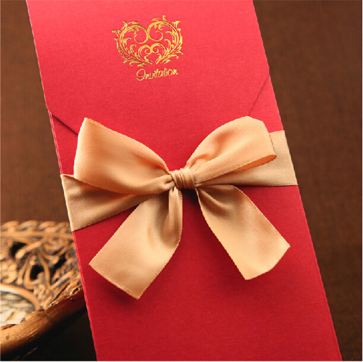 Newly design handmade greeting card design latest wedding newly design handmade greeting card design latest wedding anniversary card with ribbon bowknot in cards invitations from home garden on aliexpress m4hsunfo