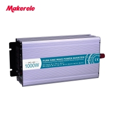 цена на Inverter 1000w 24v to 220v voltage converter with charger and UPS Pure Sine Wave off grid solar inverter