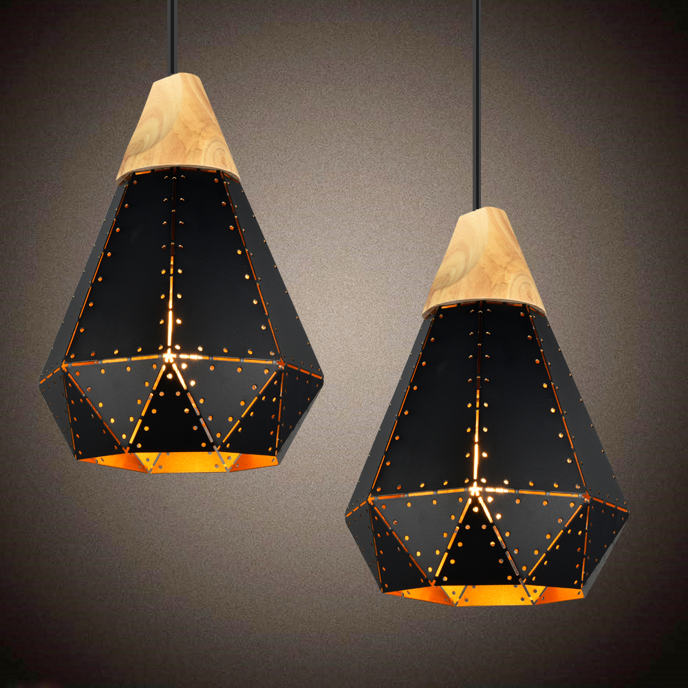 Modern Led Pendant Lights Dining Room Vintage Pendant Lamp