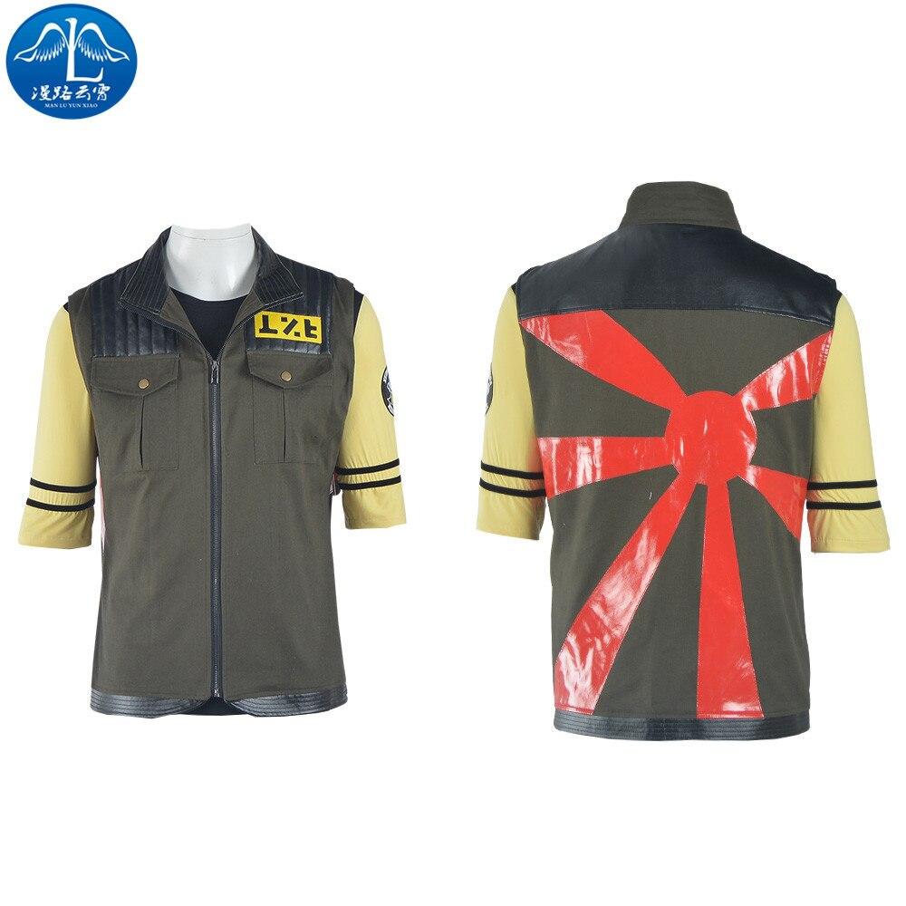 MANLUYUNXIAO Men's My Chemical Romance Jacket Guitarist Frank Iero Cosplay Costume Men's Jacket Halloween Costumes For Men
