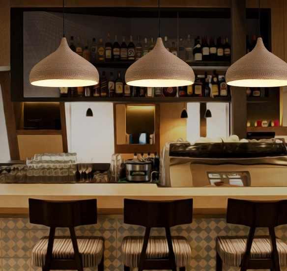 Лофт Стиль гладить пеньковая веревка Droplight светодиодный Винтаж подвесные светильники Обеденная подвесной светильник Освещение в помещении Lamparas