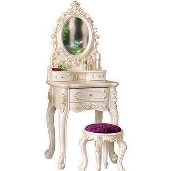 Dresser Dresuar Vanity Mueble Dormitorio Mesa Tocador De Maquillaje European Wood Bedroom Furniture Korean Table Penteadeira table