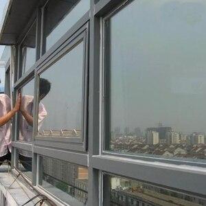 Балконная однонаправленная Солнцезащитная пленка для стекла, пленка для окон, защита от солнца, защитная пленка Dodechedron для домашнего окна ...