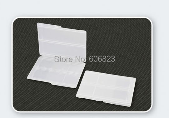 New 100 plastic Slides Mailers Box holds 2 slides Double Slide Shipping Container