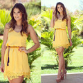 Vestido De Renda Tropical invierno tallas grandes mujeres Vestido ropa 2016 correa Roupas ocasional lindo Vestido De encaje Vestidos Femininos