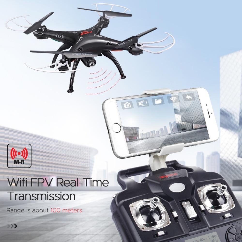 SYMA X5SW RC Drone Wifi Kamera Quadcopter Transmisja w czasie - Zabawki zdalnie sterowane - Zdjęcie 2