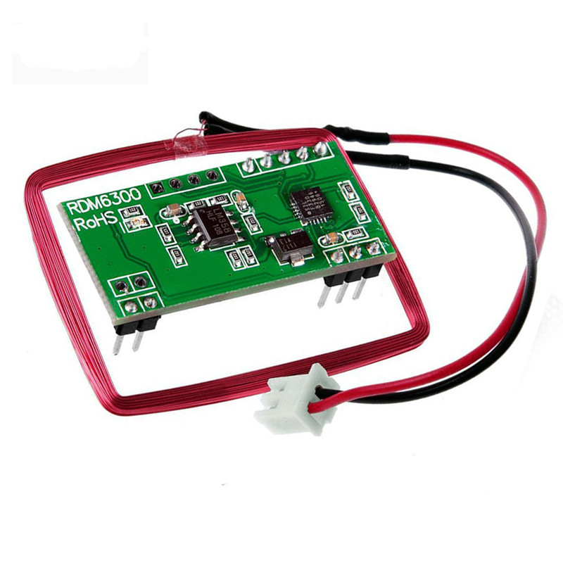 125Khz RFID Reader Module RDM6300 UART Output Access Control System for Arduino DIY Starter Kit rfid reader module rdm6300 rf module 125khz reader uart serial output