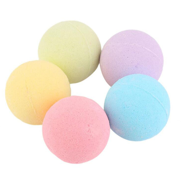 10G de ducha bombas de baño de sal del cuerpo de aceite esencial baño cuerpo blanqueamiento de la piel facilidad relajarse estrés alivio