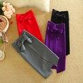 Sólido Lápiz Faldas Mujeres 2016 Verano de Algodón de Alta Cintura criss-cross Bow Faldas Mujer Moda Ropa de Trabajo y el Partido faldas jupe