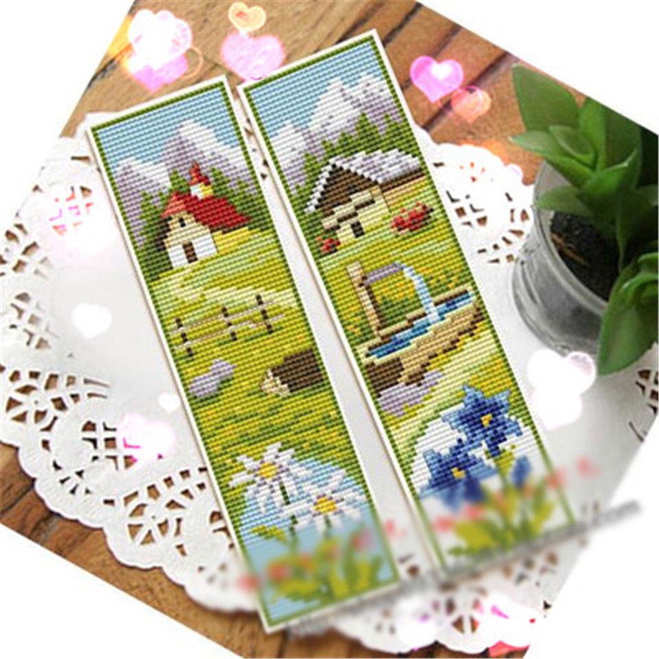 Winter Day Cross Stitch Patterns Xstitch Stitching Needlepoint Craft DIY