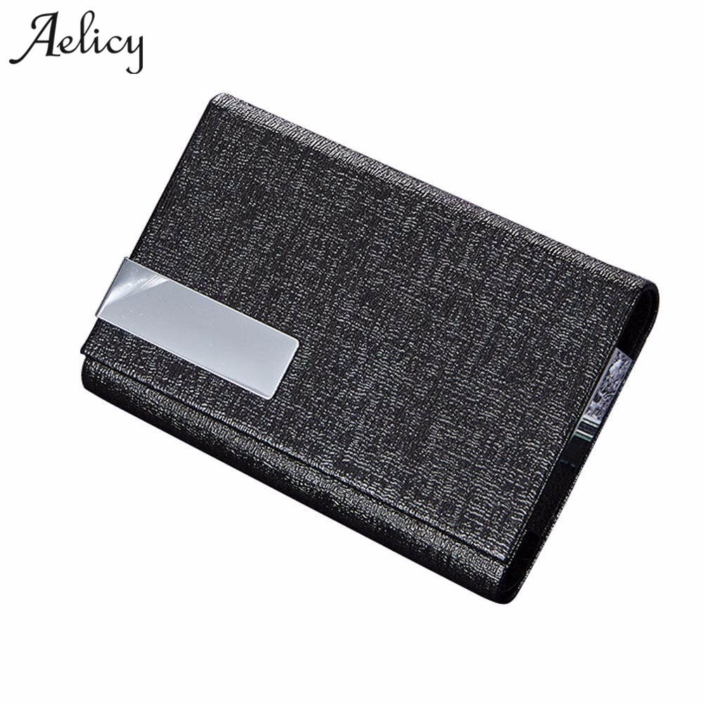 Aelicy Unisex Card Holder Top Quality Credit Card Package Small Mens Wallet Card Holder Coin Pocket Business Card Holder Case
