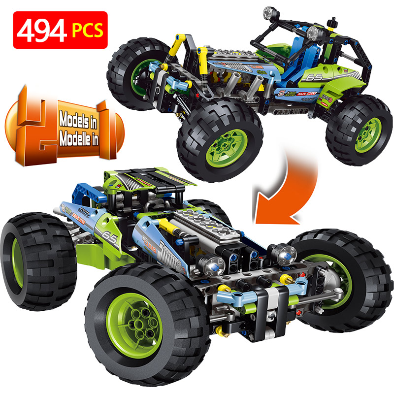 New Technic Series LegoINGLYS Technology SUV Car Model Building Blocks Sets DIY Bricks Designer Toys For ChildrenNew Technic Series LegoINGLYS Technology SUV Car Model Building Blocks Sets DIY Bricks Designer Toys For Children