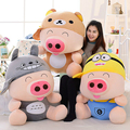 35cm Cute McDull Pig Plush Toy Stuffed Animal Form Doll Creative Dolls Valentine's Day Gifts Children Gifts Free Shipping