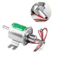 Newest 14 8 7cm Automobile Refitted Aluminum Alloy Electronic Pump HEP 02A 12V Car Fuel Gasoline