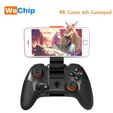 Juego de cuarto RK 4.0 Joystick Gamepad Bluetooth Inalámbrico de Modo Dual Soporte para IOS/Android Game Controller Joypad