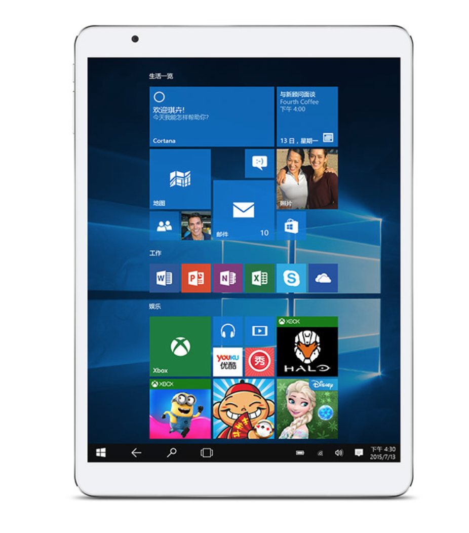 9 7 Teclast X98 pro win10 Android 5 0 wifi Tablet PC intel z8500 up to2