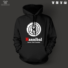 Hannibal pullover hooded hoodie sweatershirt men unisex 10.3oz 82% organic cotton fleece inside high quality Free Shipping