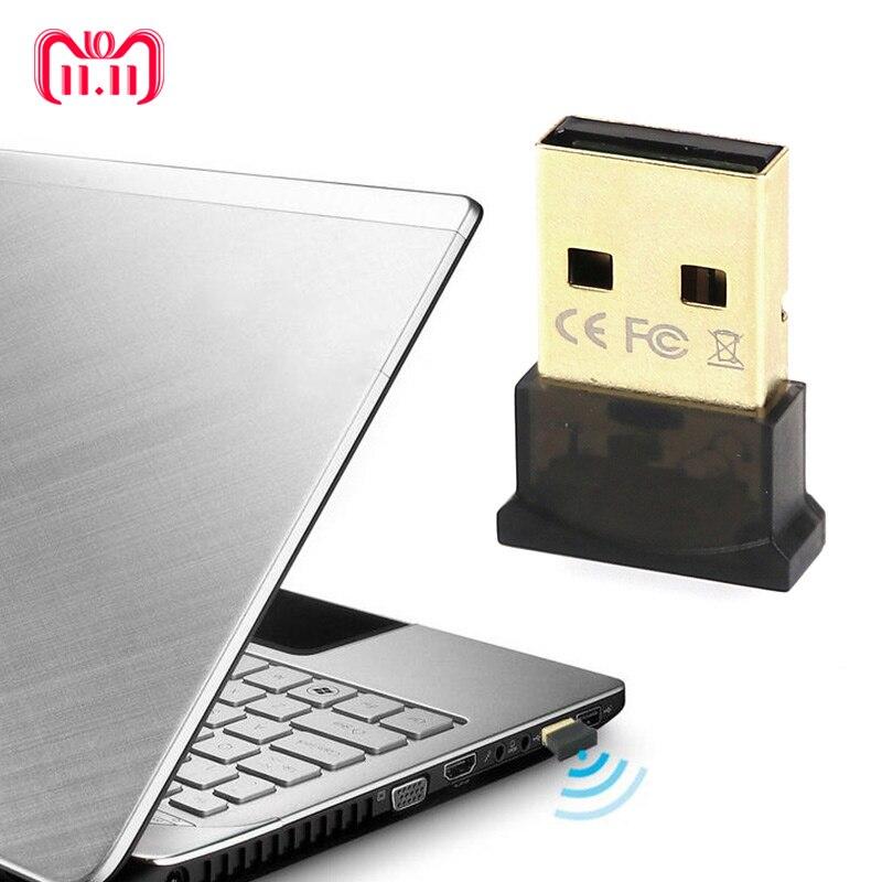 все цены на ANBES Wireless USB Bluetooth Adapter V4.0 Bluetooth Dongle Music Receiver Adaptador Bluetooth Transmitter for Computer PC Laptop онлайн