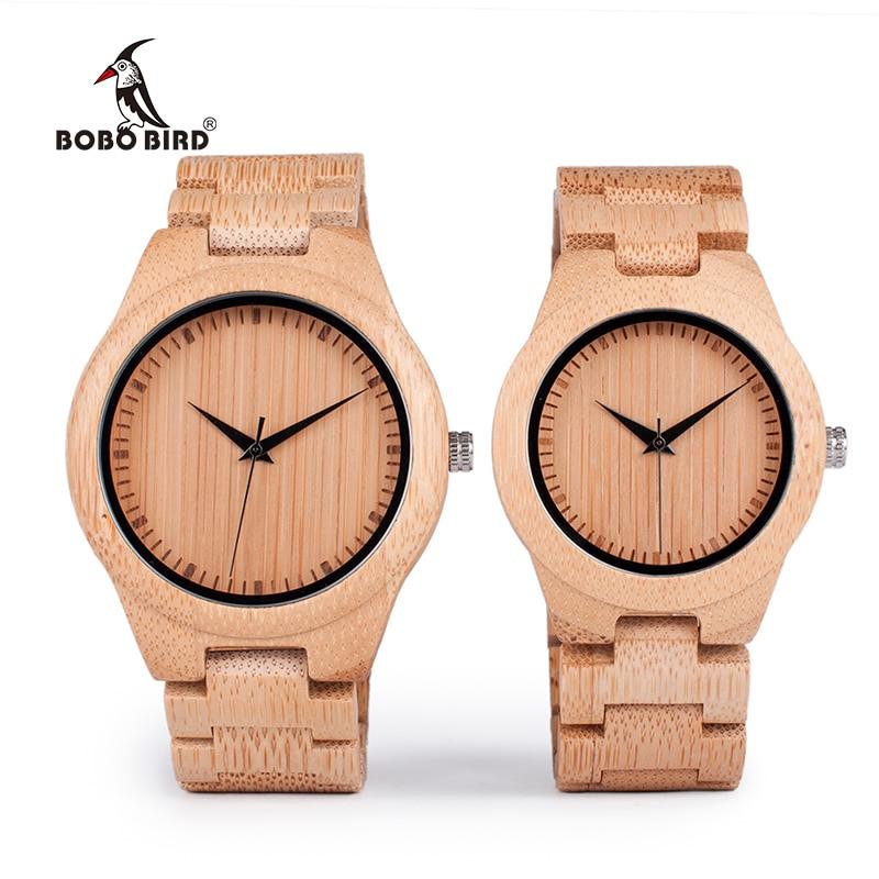 BOBO BIRD Bamboo Lovers Watches Timepieces Ағаш тобы - Әйелдер сағаттары - фото 2