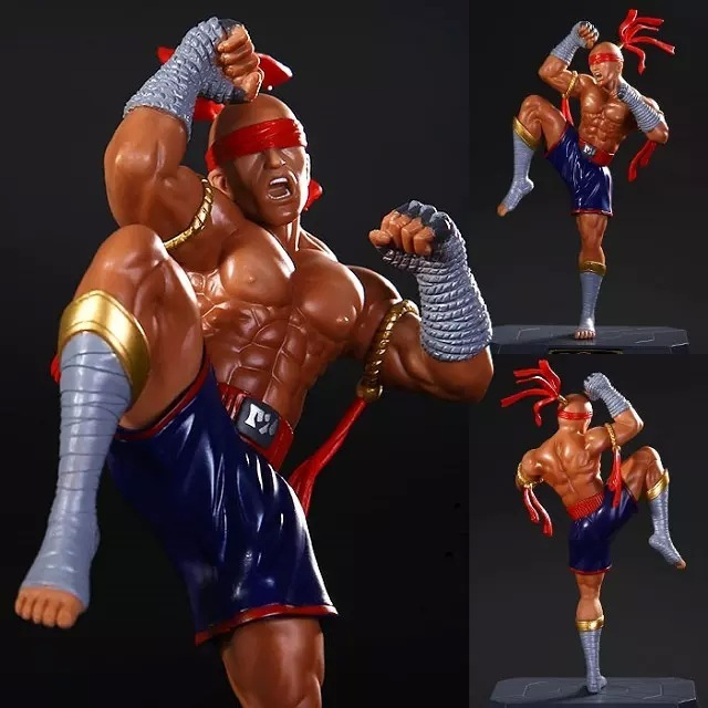Cm Big Size Lol Action Figure Lee Sin The Blind Monk Muay Thai Lee Sin Skin