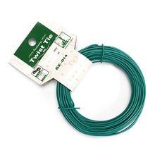 15m Plant Twist Tie Garden Wire Green Coated String DIY For Garden Training Support Strap